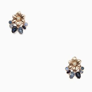 Kate Spade Wild Gardens Floral Earrings Studs